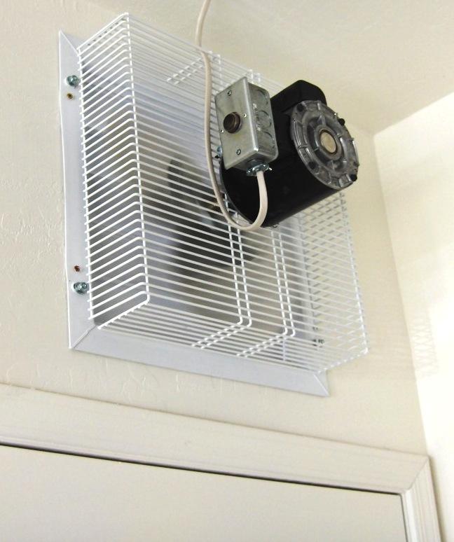 Gft 16 Garage Fan Thru Wall Cool My Garage