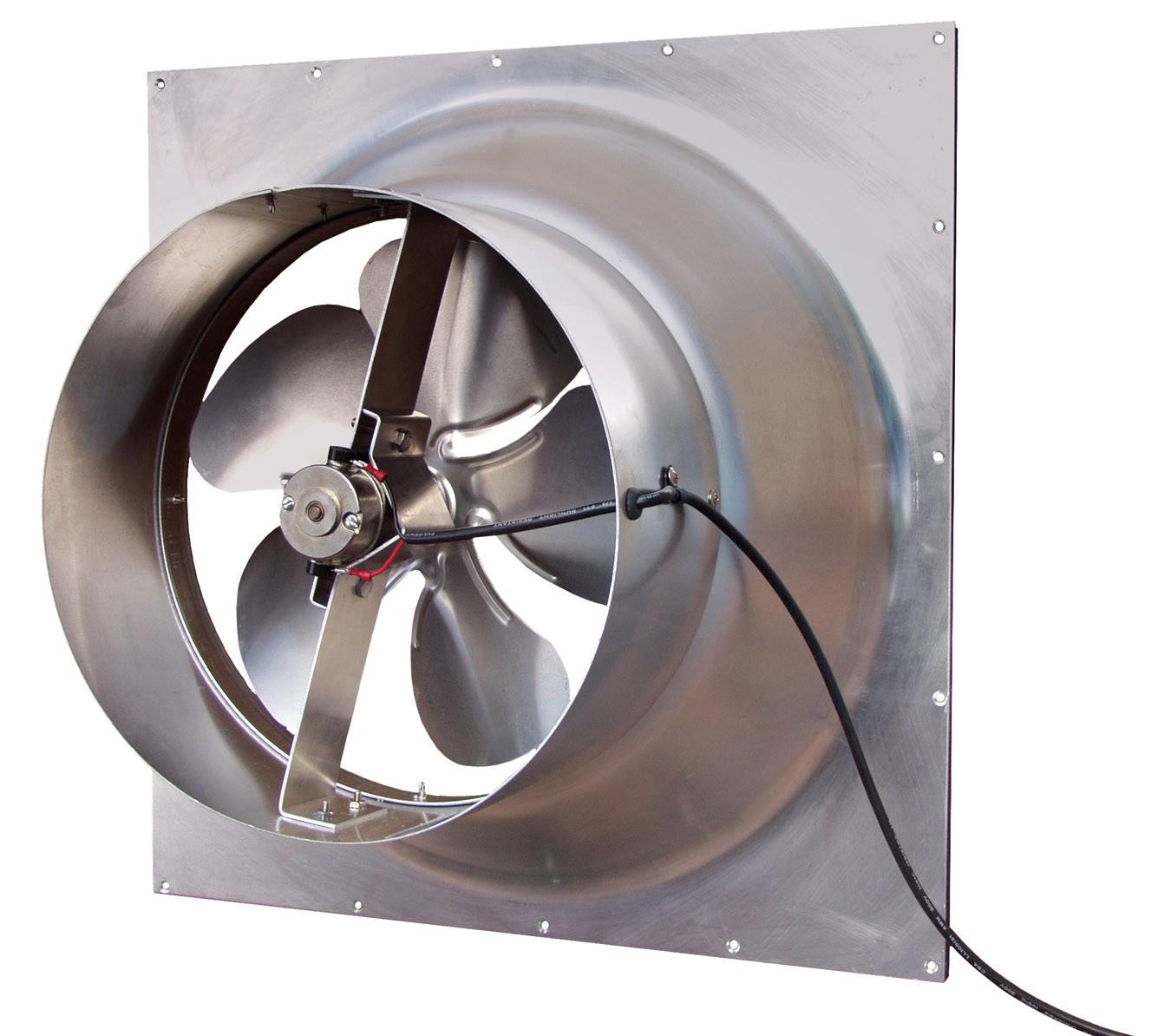 Gable Solar Attic Fan 10 Watt Cool My Garage #746357