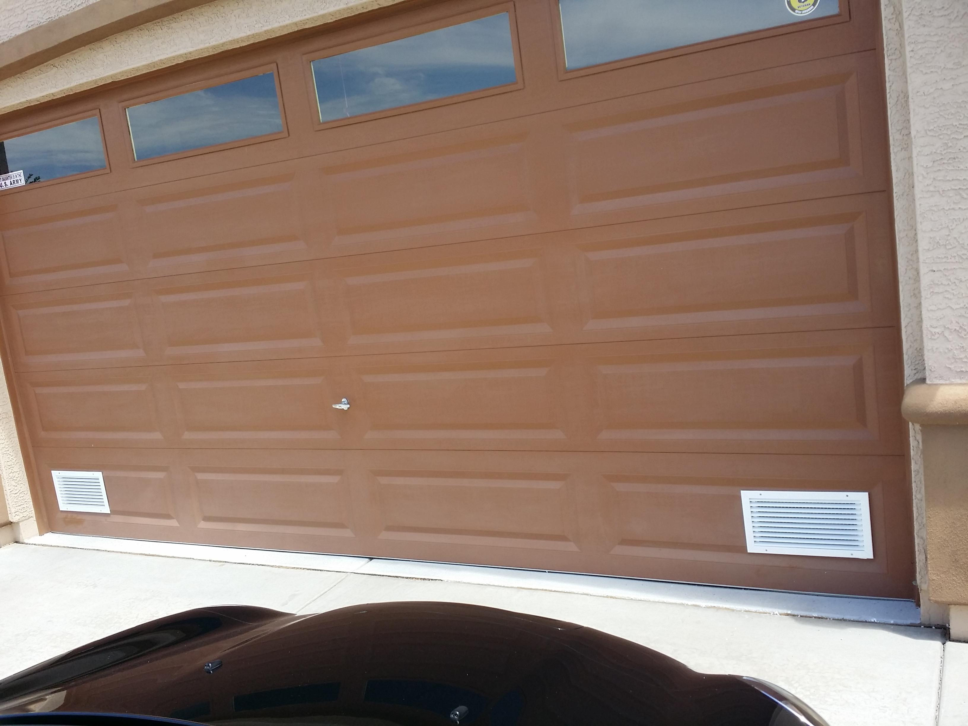 Aluminum Air Intake Vent Cool My Garage