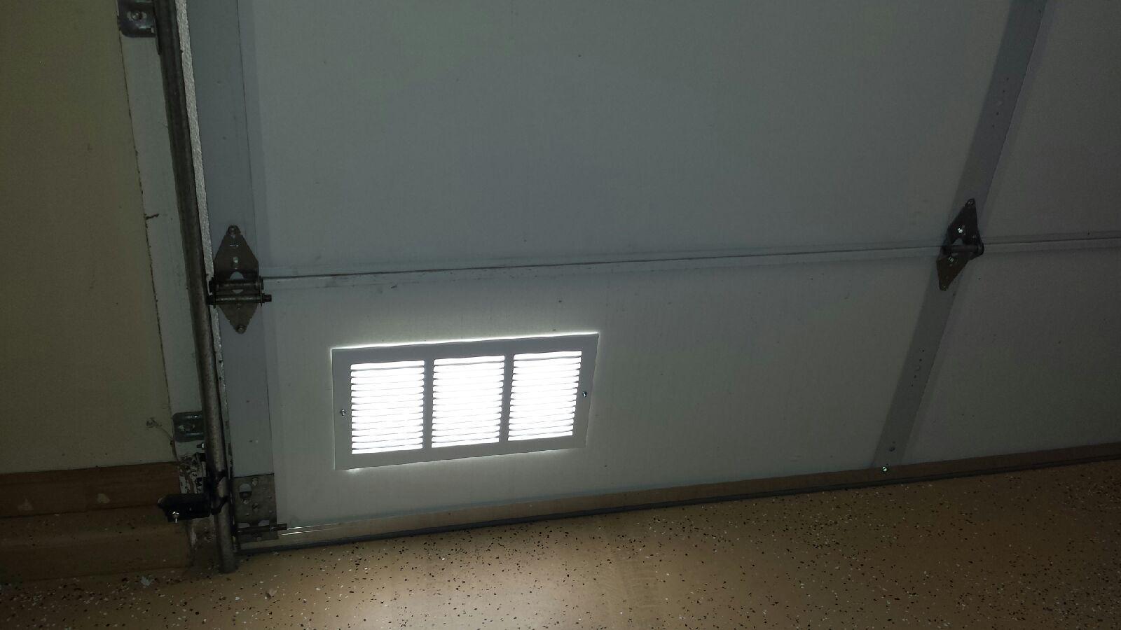 Aluminum Intake Air Vent Cool My Garage