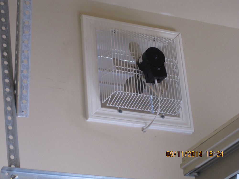 Gft 16 Through Wall Garage Fan Cool My Garage