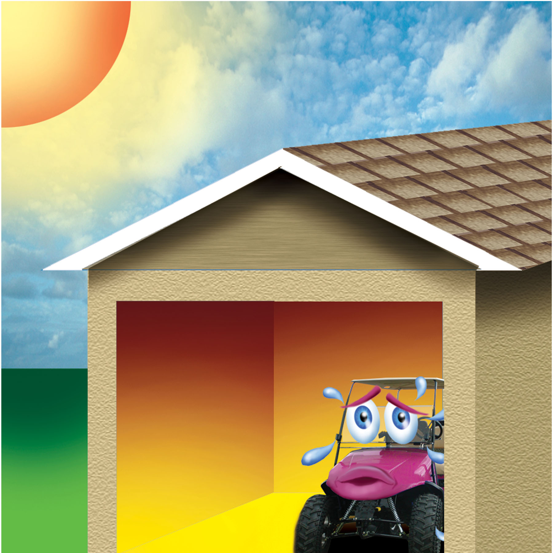 My Garage Is A Baking 110 Degrees – Help!