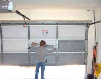 Reflective Garage Door Insulation & Reflective Garage Door Insulation - Cool My Garage