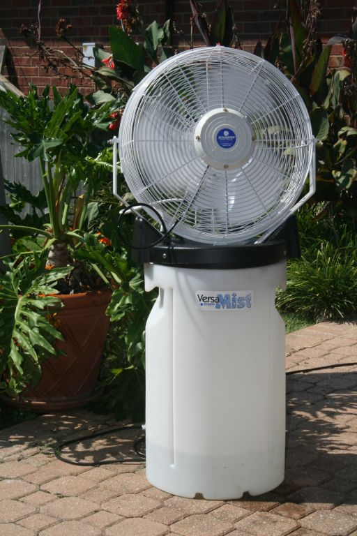 Image result for benefits of misting fan