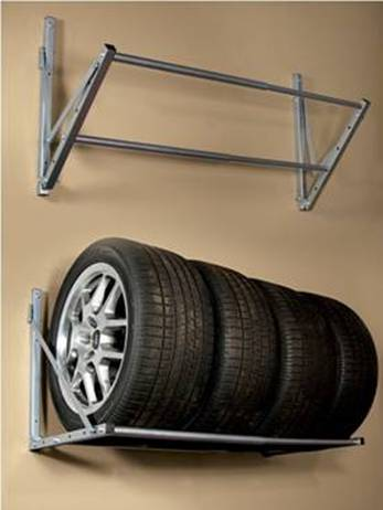 Tire Rack For Garage Cosmecol