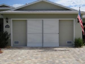 Garage Door Intake Grilles for GF-14 Garage Fan