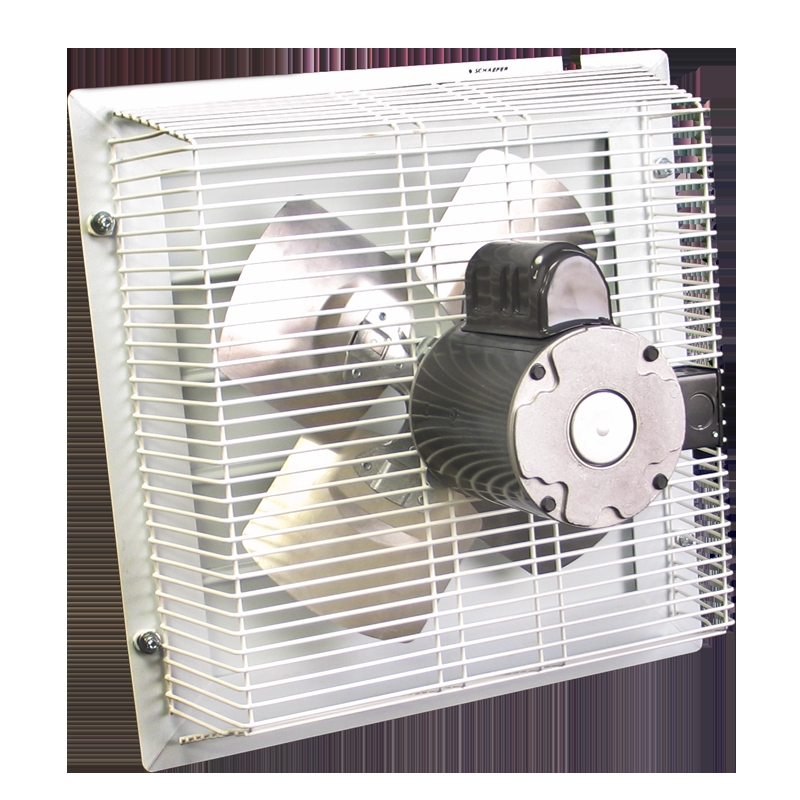 Thru The Wall Exhaust Fans : Gft through wall garage fan cool my