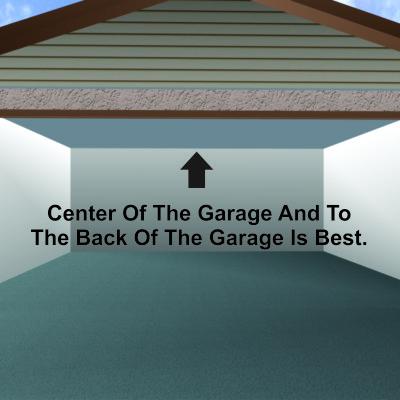 garage mock up
