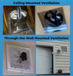 Ceiling Versus Through-The-Wall Mounted Ventilation