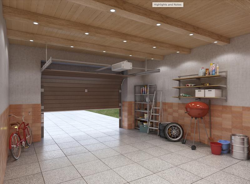 Finished Garages: Going Minimalist